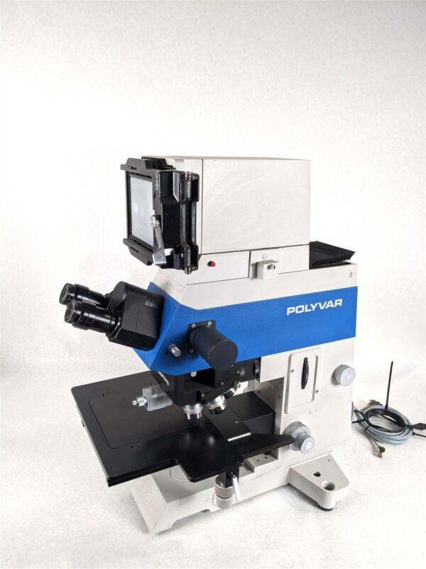 Reichert-Jung 300604 Polyvar Industrial Scientific Laboratory Microscope w/ Lens