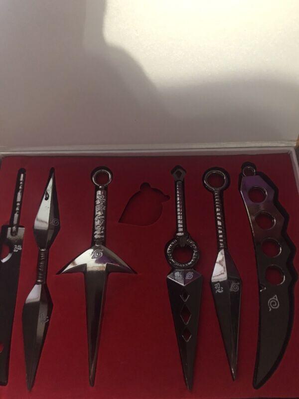Naruto Weapon Set (Good Condition) Miniature