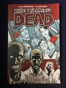 The Walking Dead comic book - Volume 1 Woonona Wollongong Area Preview