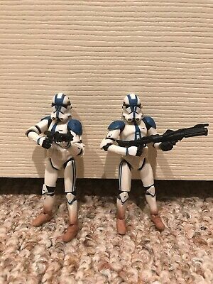 Star Wars 501st Clone Troopers Lot Of 2