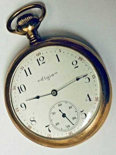 Elgin National Watch Co.   Dueber  20  Years Pocket Watch Runs
