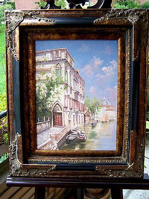 Blick auf Venedig  - nach Franz Richard Unterberger -