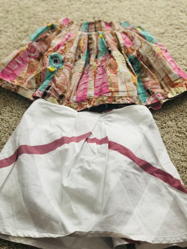 Burberry Skirt 4y And Paperwings Skirt 3y