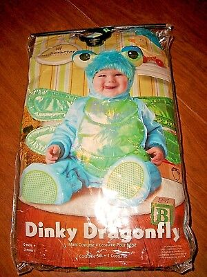 DINKY DRAGONFLY Halloween Costume, INCHARACTER, Baby, Child 12-18 Mos. BRAND NEW