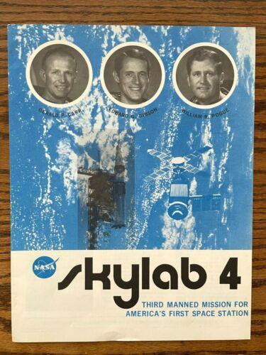1973 NASA Manned Flight Awareness SKYLAB 4 Mission Summary Booklet