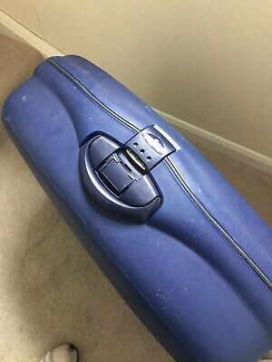 SAMSONITE LARGE SUITCASE WHEELED COMBINATION With KEY, HARDSHELL Collection Only