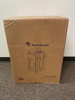 New Bonsaii 3s30 Paper Shredder 18-sheet Cross-cut Commercial Shredder