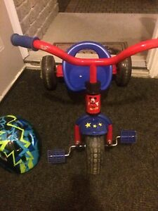 Tricycle and toddler helmet for sale