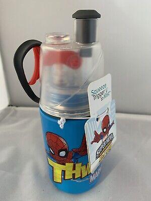 Spider Man Water Bottle - 02 cool New Marvel Super Hero Spider Man Mist N Sip Water Bottle 12 oz