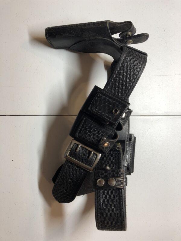 police duty belt basketweave