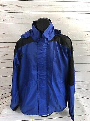 Vintage 90s Marlboro Jacket Size Large Blue