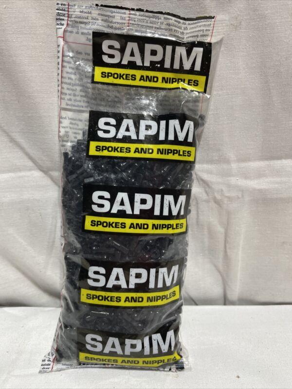 Sapim Alloy Polyax Nipple 14g/14mm - Black 100/Bag