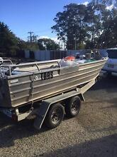 17ft Aluminium Dinghy in Current 3C Survey Mount Nelson Hobart City Preview