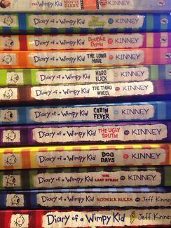 Diary wimpy kid books gumtree australia free local classifieds diary of a wimpy kid books books 1 2 3 4 5 6 7 8 9 solutioingenieria Gallery