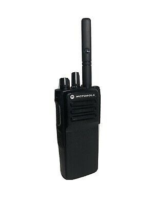 MOTOROLA DP4400e DIGITAL TWO WAY RADIO UHF WALKIE TALKIE GOOD, CLEAN CONDITION!