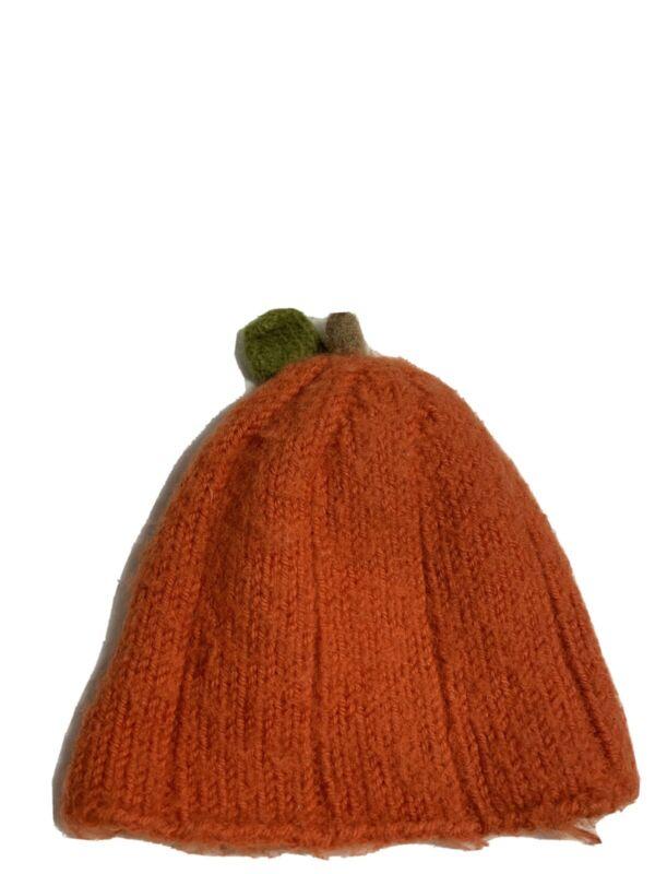 Newborn Halloween Baby Boy Girl Fall Pumpkin Hat Crochet  Photo Prop Knit Outfit