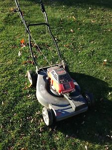 Gas mower