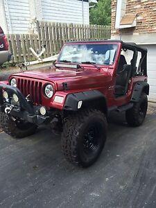Jeep tj 2002 trail ready