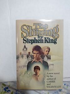 THE SHINING by Stephen King RARE 1st Edition/1st Printing / Hardcover in Jacket