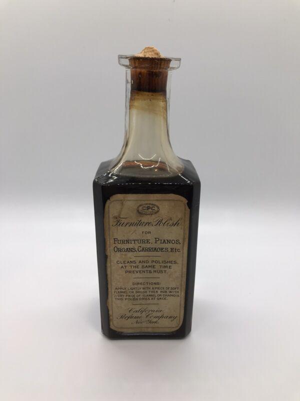 1912 California Perfume Company, Furniture Polish