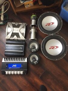Trade for an rc or ? Audio stuff , subs/amps/caps etc
