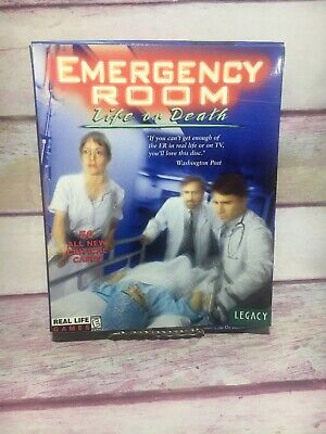 The Best Of Emergency Room Life or Death PC/Mac CD-ROM NEW (windows Sims