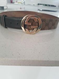 e2c189d8253 Authentic Womens Gucci Belt