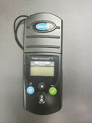 Hach Pocket Colorimeter Ii Bromine