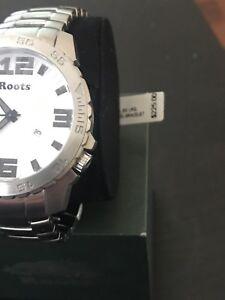 Brand New Men's Roots Watch Retail $225.00