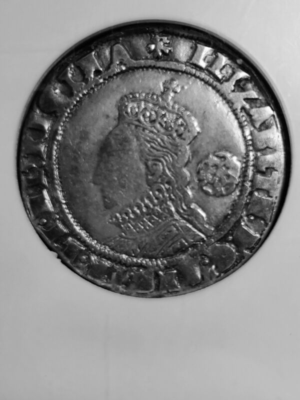 Queen Elizabeth I 1575 sixpence, NGC VF 20