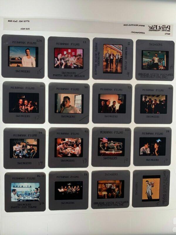 Swingers Movie 35mm Photo Slides Press Kit Promo Vintage 1996 Lot of 16