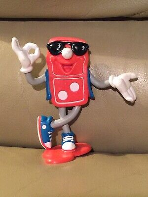 Vintage Dominos Pizza PVC Figure 1993 Toy Retired Mascot