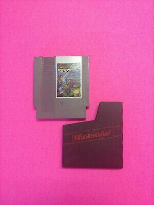 NES TMNT Teenage Mutant Ninja Turtles 3: The Manhattan Project- Great Label