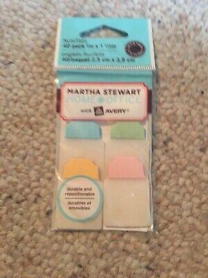 Martha Stewart Notetabs