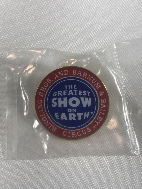 Ringling Bros Barnum & Bailey Greatest Show On Earth Staff Lapel Pin Rare NIP