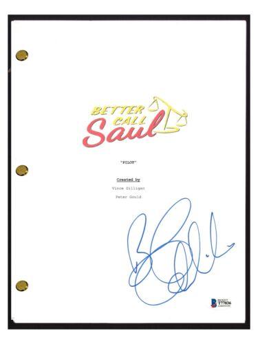 Bob Odenkirk Signed Autograph BETTER CALL SAUL Pilot Episode Script Beckett COA