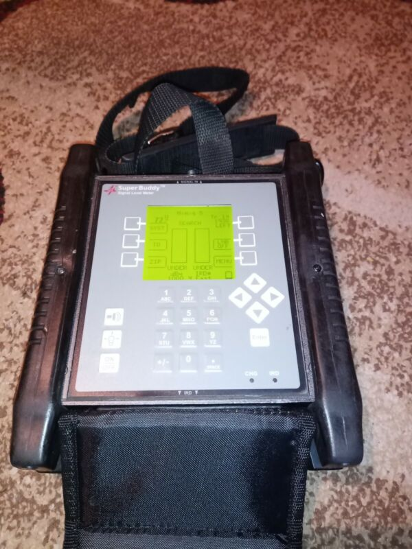 Applied Instruments SUPER BUDDY 29 Satellite Signal Level Meter Good Battery