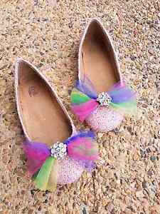 Pink and Rainbow Sparkly Fairy Shoes Ladies 7/Girls 5 Kallangur Pine Rivers Area Preview