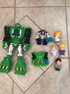 Transformers Rescue Bots + Little People