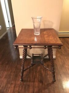 Antique Ball and Spindle Table