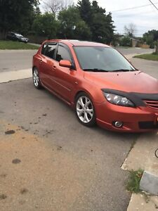 2004 Mazda 3 Hatchback lots of modifications!