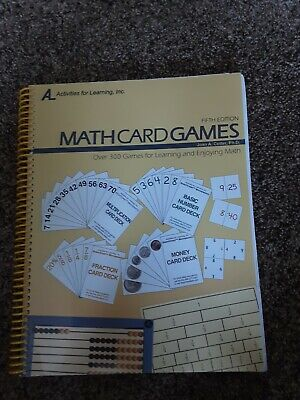 Math Card Game w/CD  Fifth Edition for RightStart Math