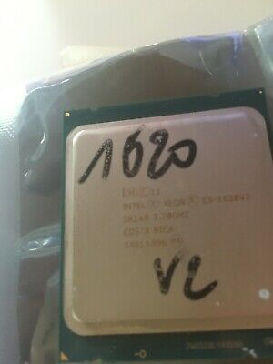 Intel® Xeon® Processor E5-1620 v2 4-core 8 threads, 10M Cache, 3.70 GHz SR1AR