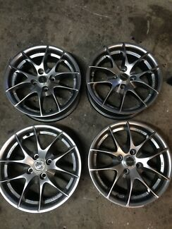 "Roh 15"" rims 4x100 Campbelltown Campbelltown Area Preview"
