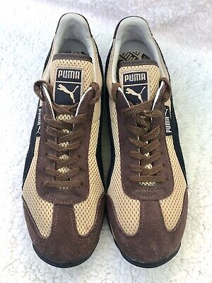 PUMA Sport Lifestyle Men's Leather Running Sports Shoes Athletic Lace-Up 7.5 N/M