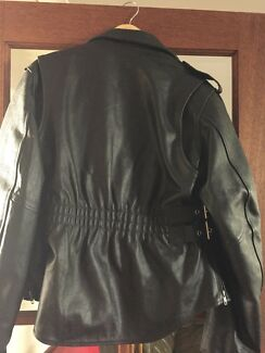 Ladies leather Motorcycle jacket  Bertram Kwinana Area Preview