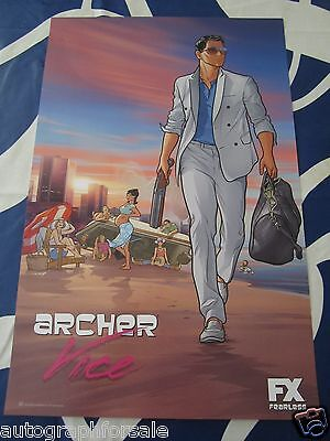 Archer Vice 2014 San Diego Comic-Con SDCC mini FX promo 11x17 poster MINT