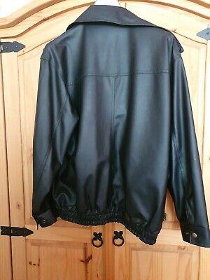 men leather jacket size xl