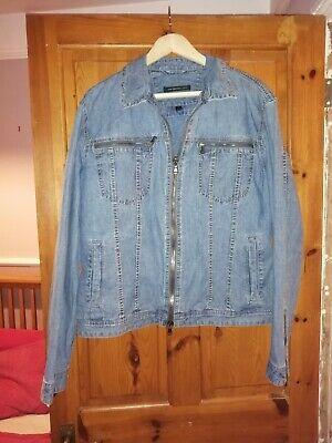 John Varvatos USA Denim Jacket Size XL