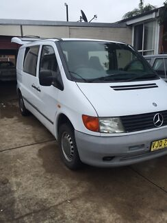 Mercedes Vito manual 98 model Maitland Maitland Area Preview